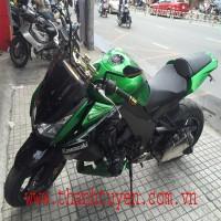 Kawasaki Z1000. Đời 2010 , Màu Xanh , xe Zin