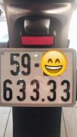 XE ĐÃ BÁN .SH150i , Nhập Ý , màu Trắng Đen , Đk 2015 , Bs vip 63333, xe bao zin 100%