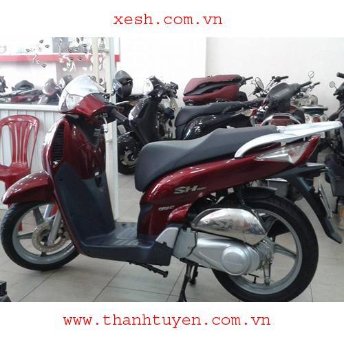SHi xe Ý, ĐK 2007, màu đỏ đô, zin 98%, giá 85.000.000đ