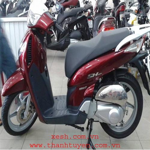SHi 150 , xe Ý , màu đỏ , ĐK 2008